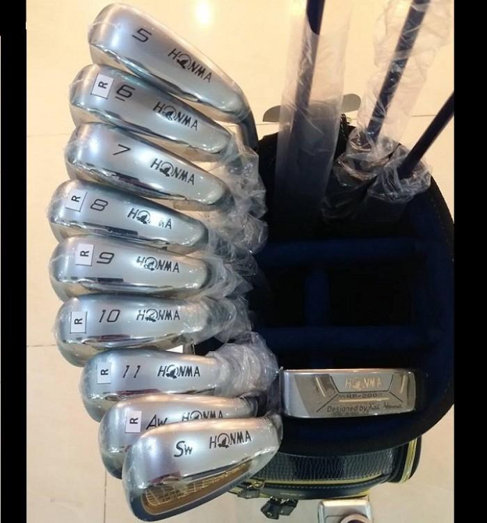 Bộ gậy golf honma S-06 3 sao shaft 52g mới 100%1