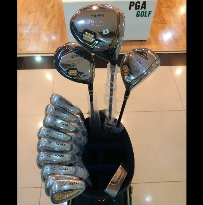 Bộ gậy golf Honma Beres S-06 3 sao shaft 52g mới 100%