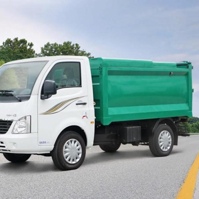 Bán xe tải Tata 1.2T, chạy dầu 4.5l/100km, đời 2017, chuyên chở rác