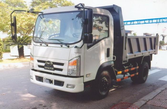 Bán xe ben 5 tấn 1 cầu KC6650D, KM 2% phí trước bạ.