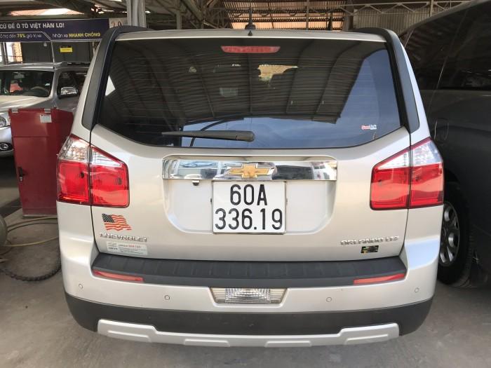 Bán Chevrolet Orlando LTZ màu bạc số tự động sản xuất 2014 lăn bánh 2015 gốc Sài Gòn đi 38000km