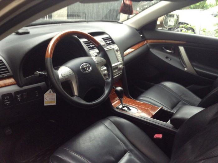 Cần bán xe Toyota Camry 3.5Q 2007 số tự động màu xám 5