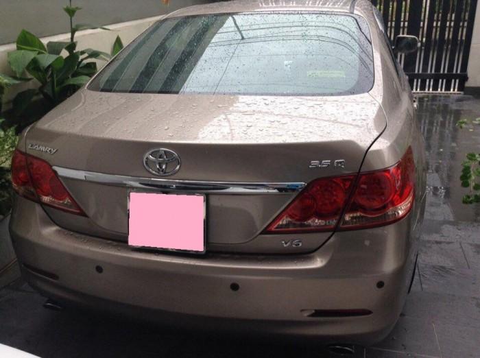 Cần bán xe Toyota Camry 3.5Q 2007 số tự động màu xám 2
