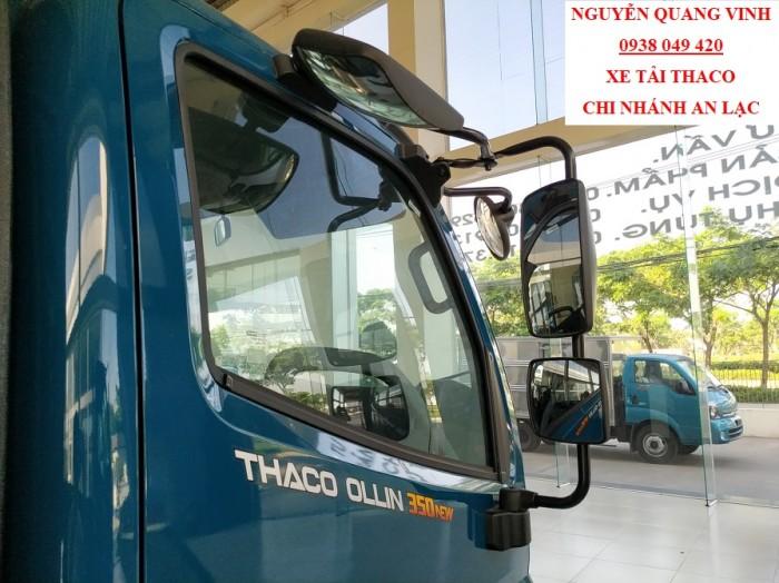 Xe Tải Trường Hải - Thaco Ollin 350 Euro 4 - Mới nhất- Thùng 4m4 - Tải 2,2 & 3,49 Tấn - Hổ Trợ Trả Góp 5