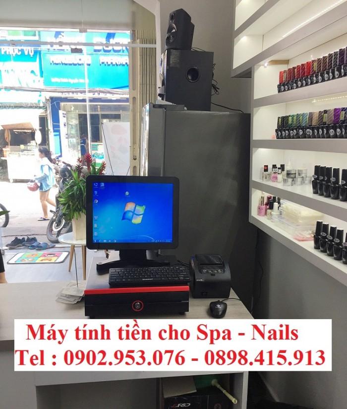 Cung cấp máy tính tiền cho spa - nails giá rẻ1