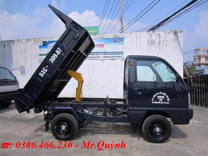 Bán Xe Tải Ben Suzuki 500kg - Hỗ Trợ Vay Vốn  -TaỊ  Kiên Giang 2