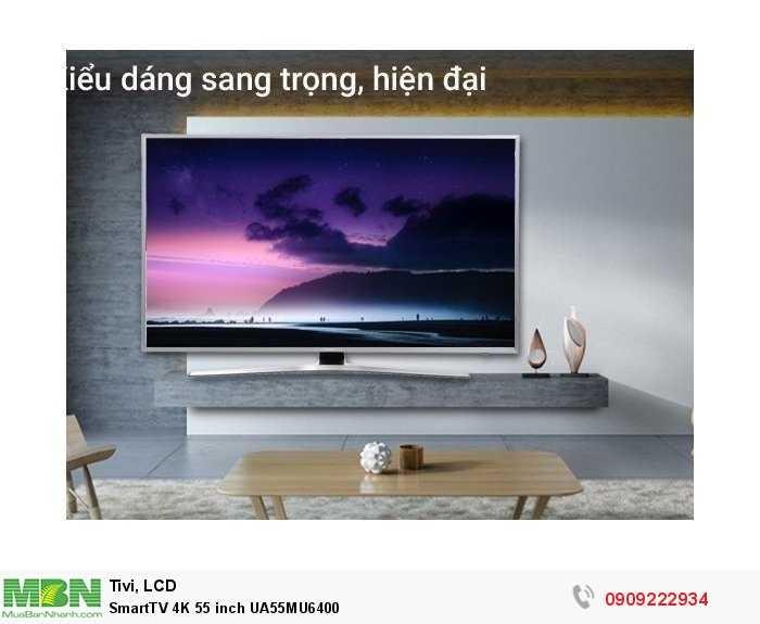 SmartTV 4K 55 inch UA55MU64000