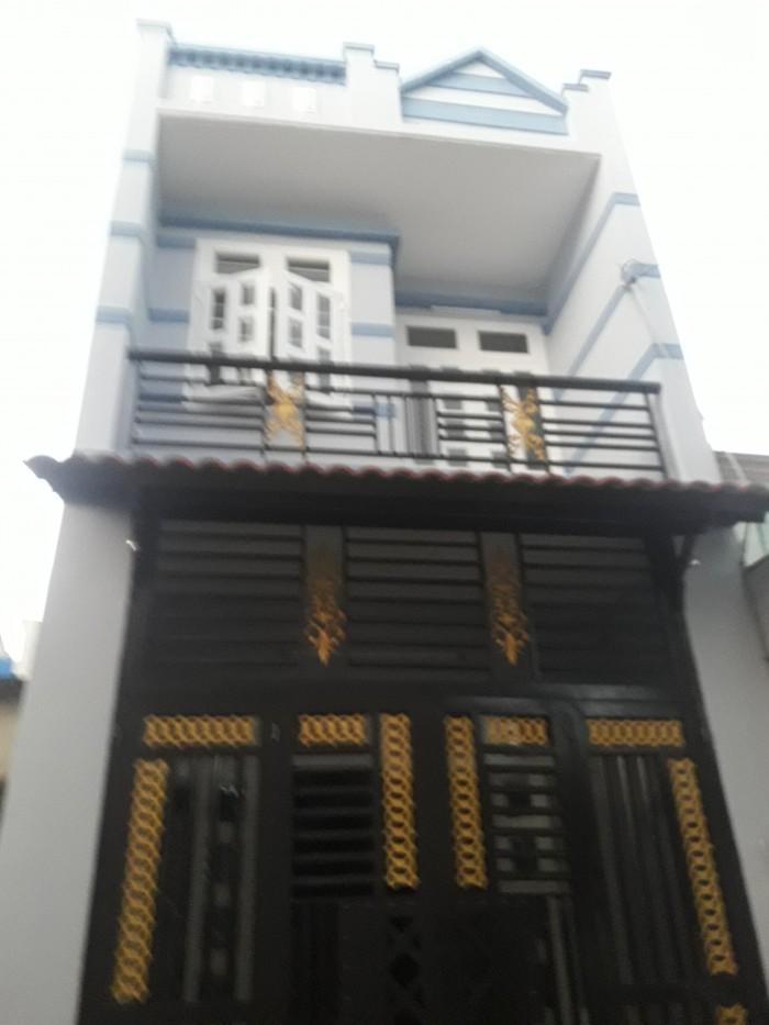 Bán nhà 1 trệt 1 lầu. DT 4x14m.  1/ đường Võ Văn Vân