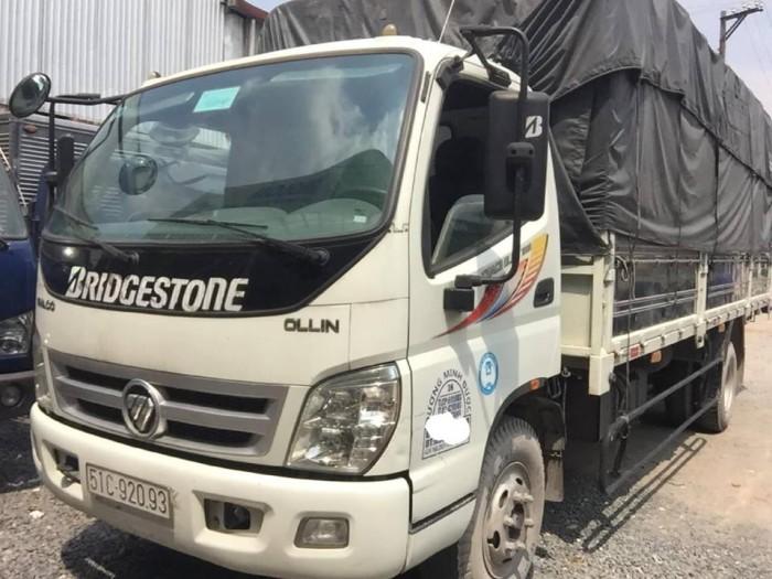 Bán xe tải Thaco Oliln 700b đời 2016 thùng dài 6m1