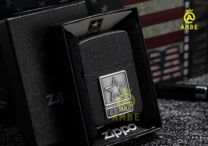 Zippo US Army tái bản 1941 sơn đen 285835