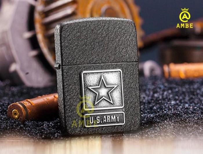 Zippo US Army tái bản 1941 sơn đen 285834
