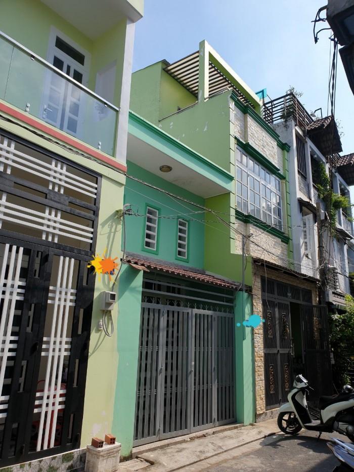 Nhà hẻm xe hơi gần chợ Lê Đình Cẩn giá tốt