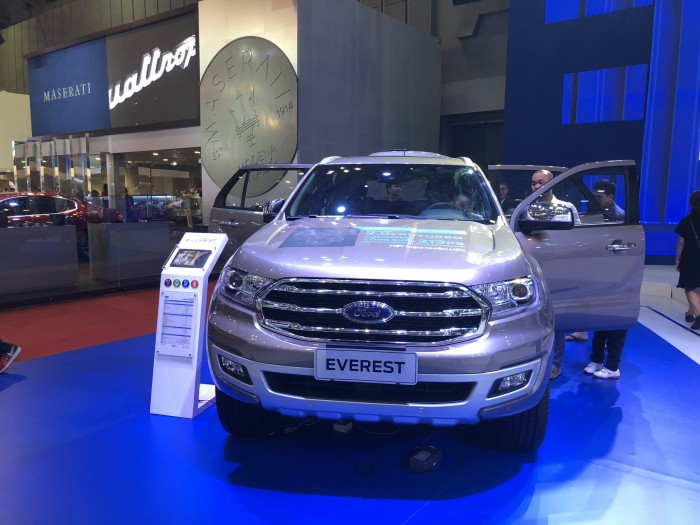 Giá Xe Ford Everest Biturbo - Ford Everest 2019