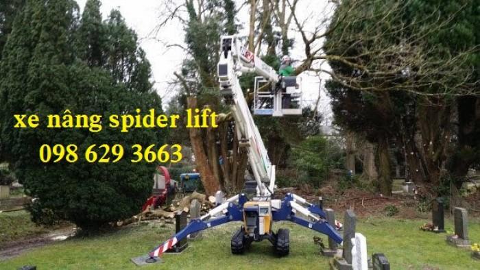Xe nâng người dạng chân nhện