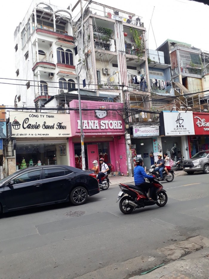 Bán nhà mặt phố Lê Văn Sỹ, Phú Nhuận. DT 4 x 14m, 3 lầu đẹp