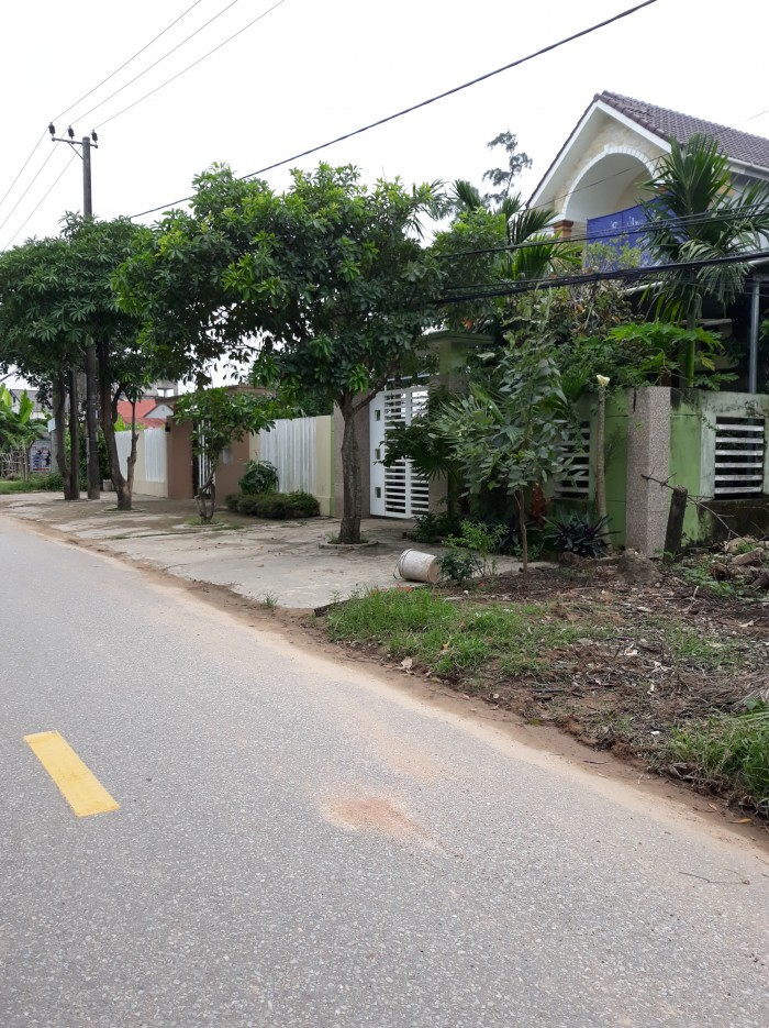 Mặt tiền đường Nguyễn Thiện Thuật