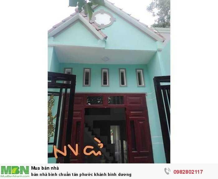 Bán Nhà Bình Chuẩn Tân Phước Khánh Bình Dương