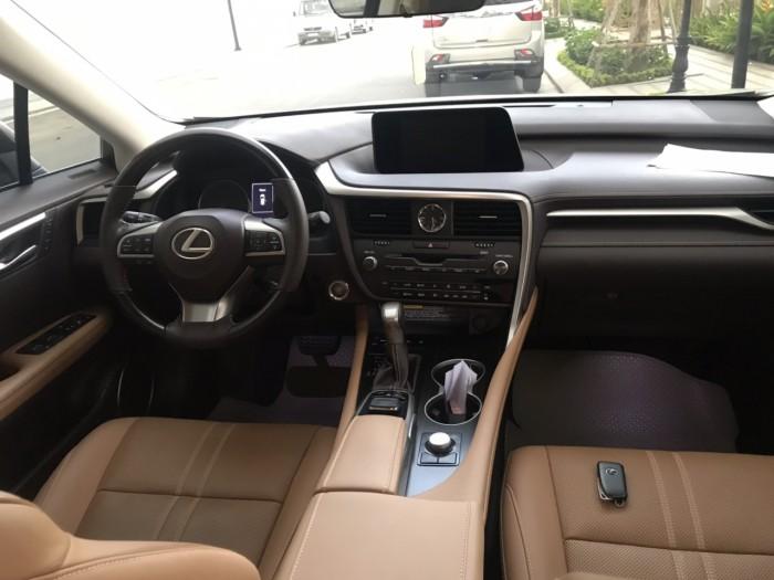 Bán chiếc Lexus RX200t đời 2016 đk 2017 màu vàng cát