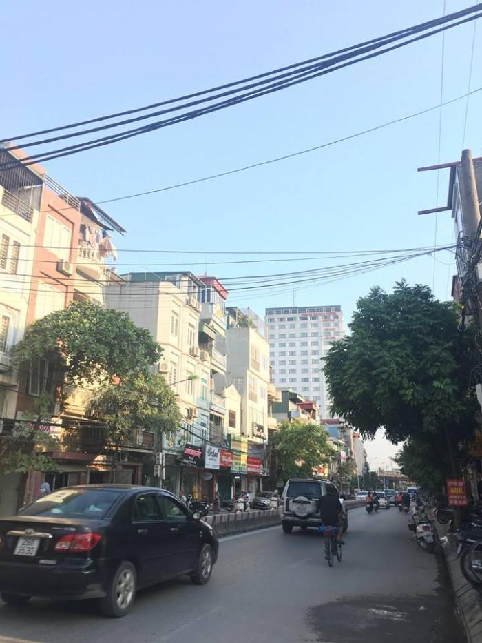 Bán nhà mặt phố Minh Khai, diện tích 60m, mặt tiền 4.40, vỉa hè 3m
