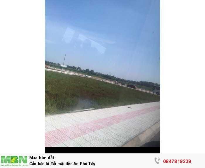 Cần bán lô đất mặt tiền An Phú Tây