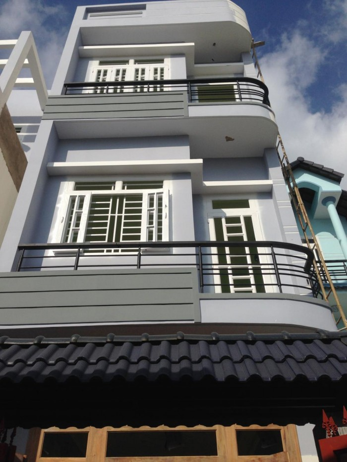 Cần tiền trả nợ Bán gấp căn nhà 1 trệt 2 lầu, MT Nguyễn Văn Bứa, Hóc Môn, SHR