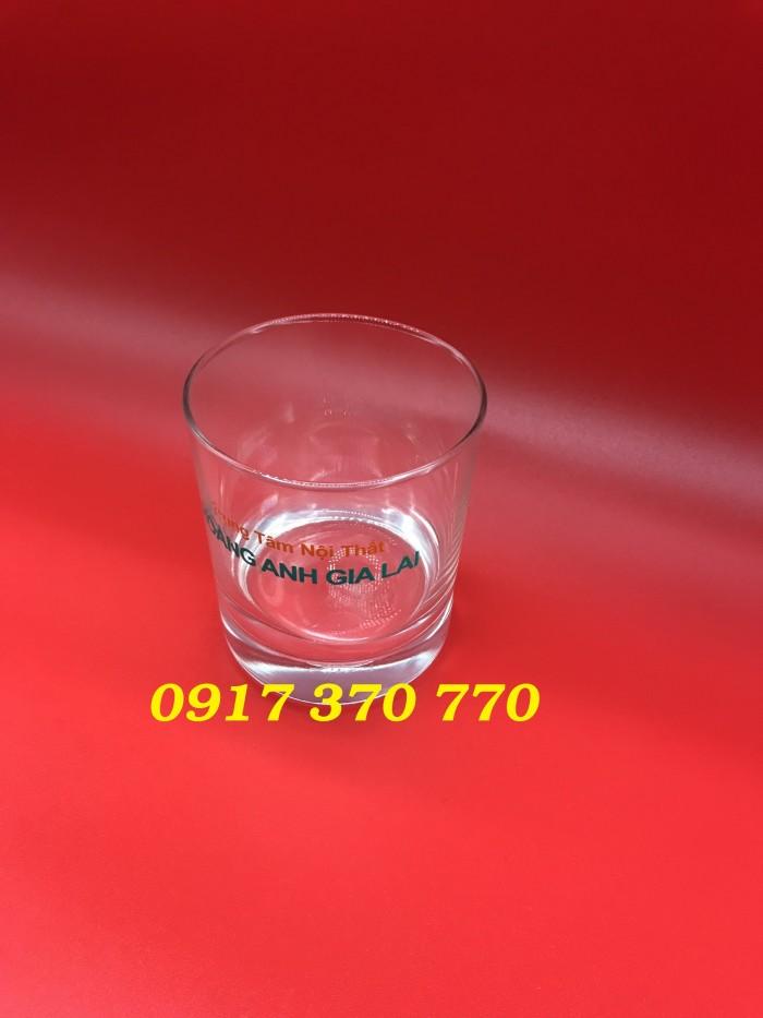 In ly thủy tinh, chén gốm sứ làm quà tặng giá rẻ4