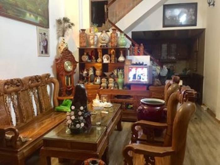 Nhà riêng tại Đào Tấn 45m2 - 3 thoáng - Ngõ thông ra CV Thủ Lệ