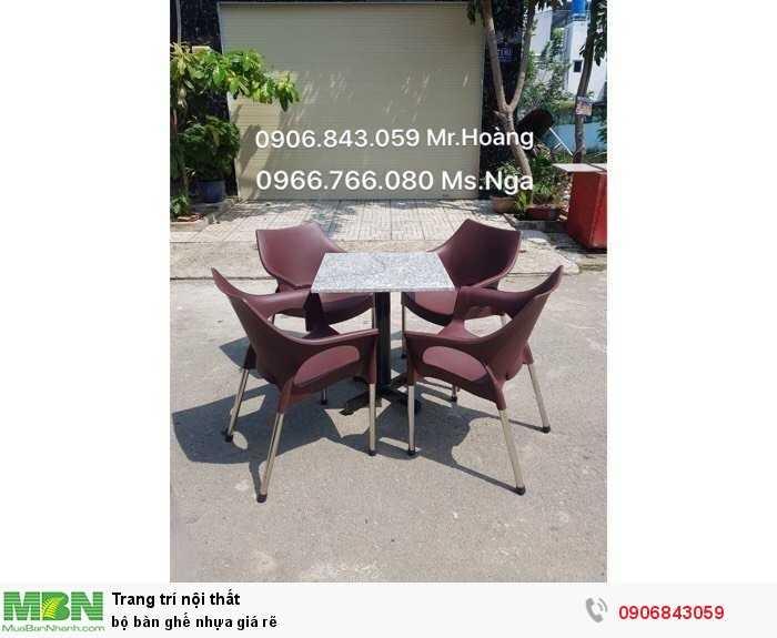 Bộ bàn ghế nhựa giá rẽ1