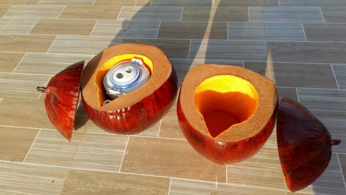 Bình giữ ấm trà bằng trái dừa3