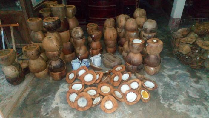 Bình giữ ấm trà bằng trái dừa6