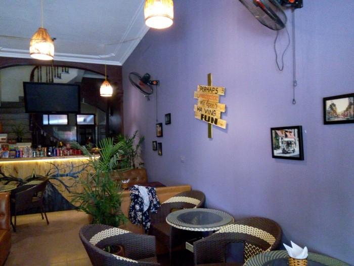 Sang nhượng quán cà phê DT 70m2 mặt tiền 4 m trong khu đô thị Văn Quán Q.Hà Đông HN