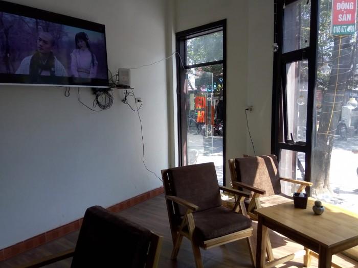 Sang nhượng quán cà phê DT 50 m2 hai mặt tiền 8 m + 4 m Q.Hà Đông Hà Nội