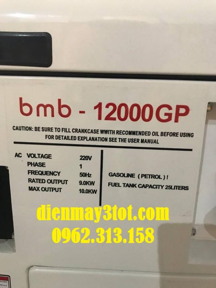 Máy phát điện chạy xăng 10kw Bamboo 12000GP siêu chống ồn công nghệ 100% Nhật Bản0