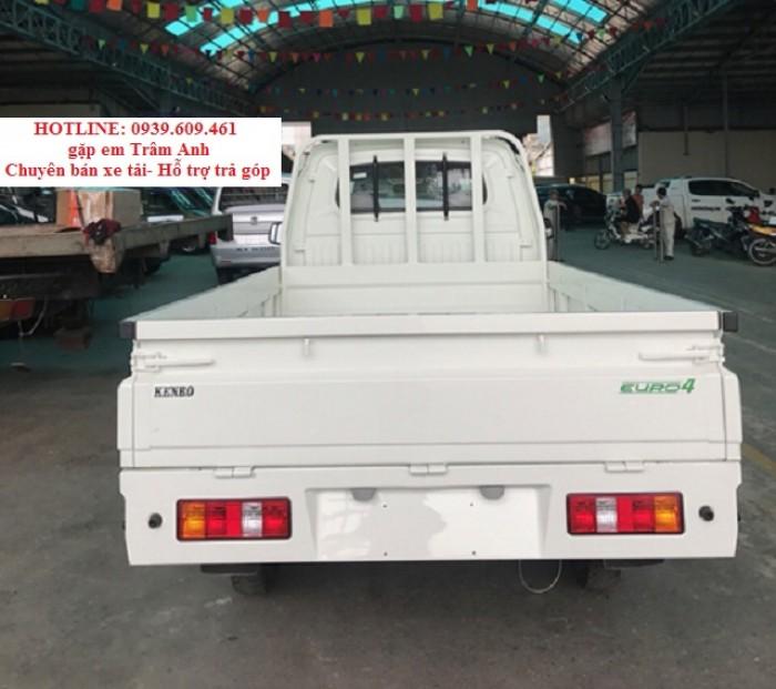 Xe tải Kenbo 990kg Thùng lững – bạt – kín 2018 l hỗ trợ trả góp