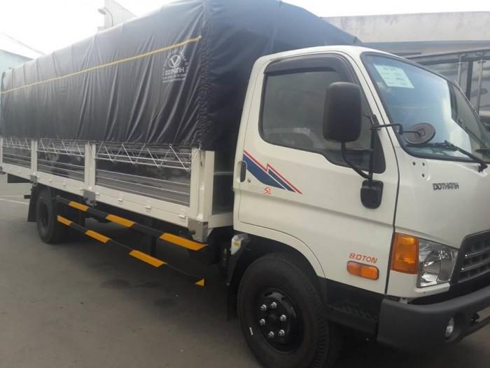 Xe tải Hyundai HD120SL 8 tấn thùng mui bạt dài 6m2 trả trước 100 triệu giao xe ngay - Gọi 0931777073 (Mr Hồng 24/24)