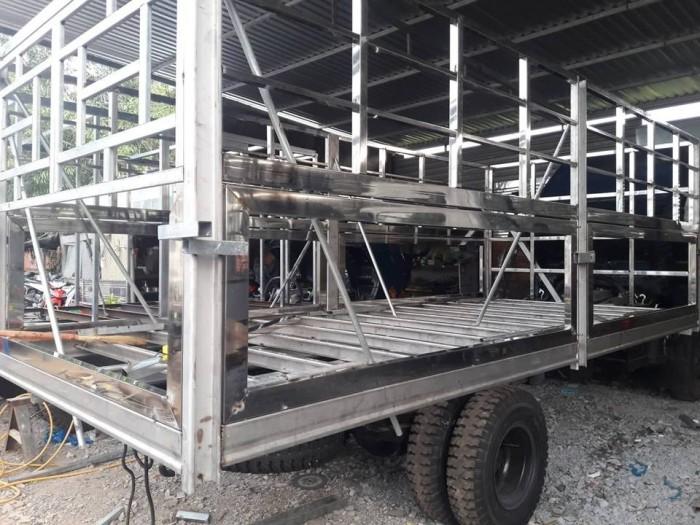 Đóng thùng xe tải Hyundai HD120SL 8 tấn thùng mui bạt dài 6m2 trả trước 100 triệu giao xe ngay - Gọi 0931777073 (Mr Hồng 24/24)