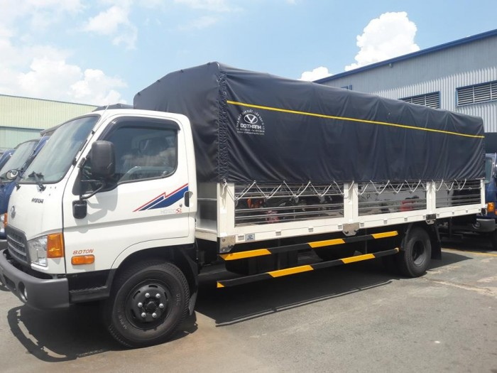 Mua xe tải Hyundai HD120SL 8 tấn thùng mui bạt dài 6m2 trả trước 100 triệu giao xe ngay - Gọi 0931777073 (Mr Hồng 24/24)