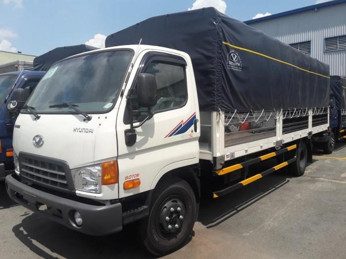Bán xe tải Hyundai HD120SL 8 tấn thùng mui bạt dài 6m2 trả trước 100 triệu giao xe ngay - Gọi 0931777073 (Mr Hồng 24/24)