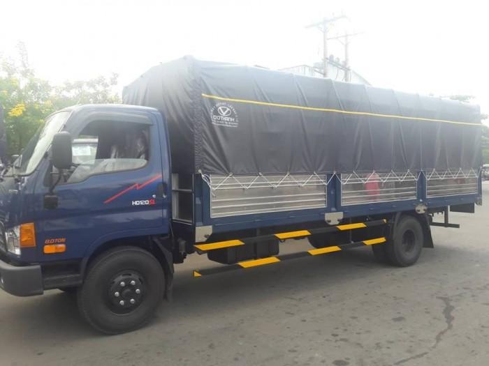 Giá xe tải Hyundai HD120SL 8 tấn thùng mui bạt, tặng phí trước bạ,trả trước chỉ 100 triệu giao luôn xe - Gọi 0931777073 (Mr Hồng 24/24)