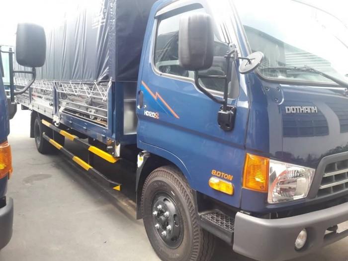 Mua xe tải Hyundai HD120SL 8 tấn thùng mui bạt, tặng phí trước bạ,trả trước chỉ 100 triệu giao luôn xe - Gọi 0931777073 (Mr Hồng 24/24)