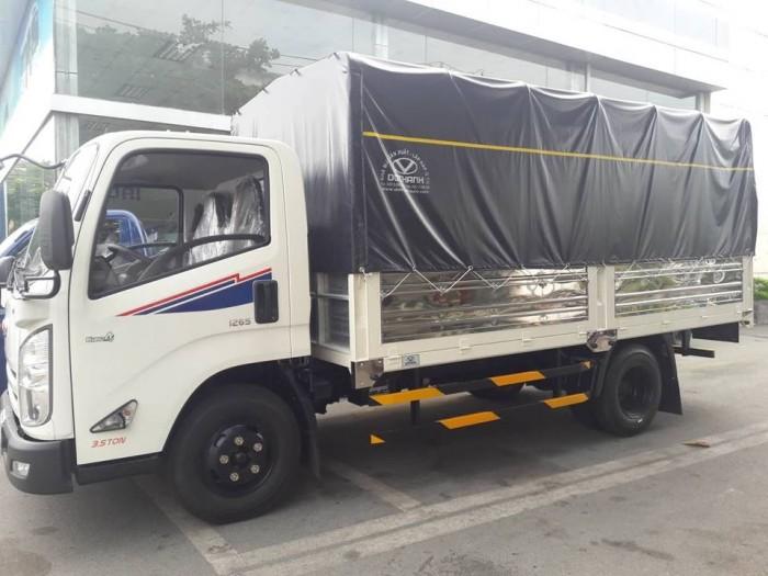 Giá xe tải Hyundai IZ65 2.5 tấn thùng mui bạt, trả trước 100 triệu giao xe ngay