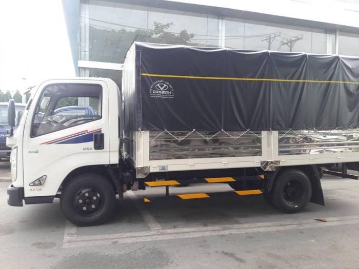 Giá xe tải Hyundai IZ65 2.5 tấn thùng mui...