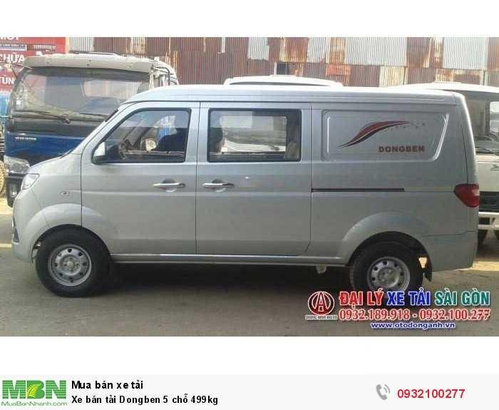 Xe bán tải Dongben 5 chỗ 499kg