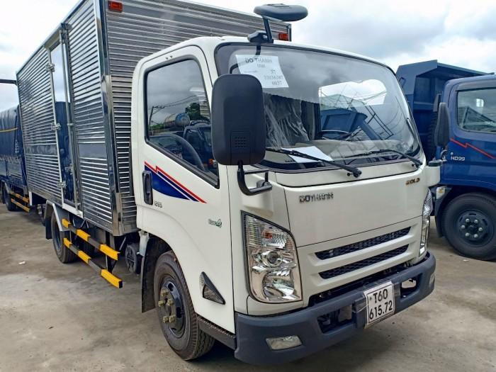 Xe tải Hyundai IZ65 1.9 tấn thùng kín inox trả trước 100 triệu giao luôn xe