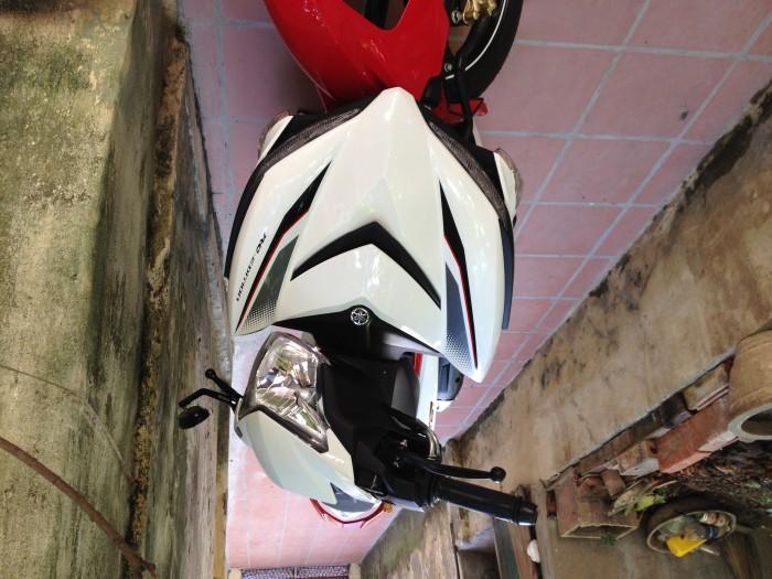 Cần bán xe máy Exciter 150 màu trắng đỏ 2018