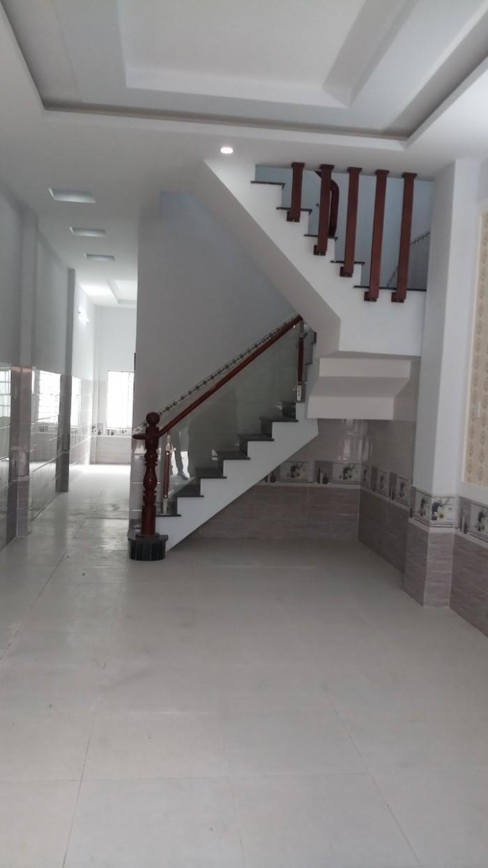 Bán nhà gấp KCN Cầu tràm Cần  Đước giáp Bình Chánh SHR phun nội thất