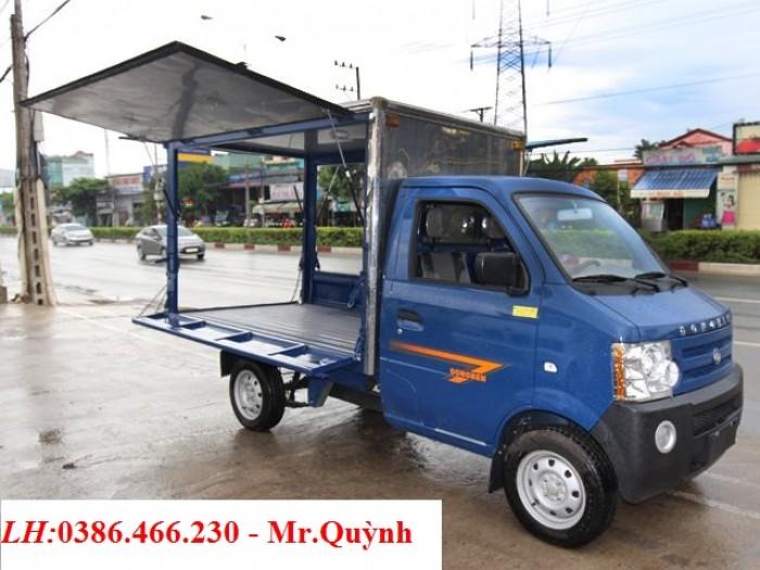 Bán Xe tải nhẹ Dongben 770kg thùng cánh dơi - Nhập Khẩu 100%