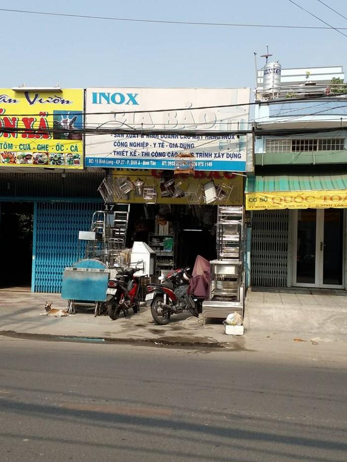 Chính chủ bán nhà 19 Bình Long - 4x26 - ngã 4