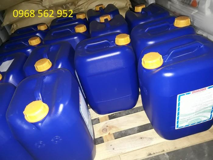 Clo Dioxit (Chlorine Dioxide) 5% - Khử trùng, diệt khuẩn, diệt vi sinh, vệ sinh công nghiệp, ao hồ nuôi trồng thủy sản1