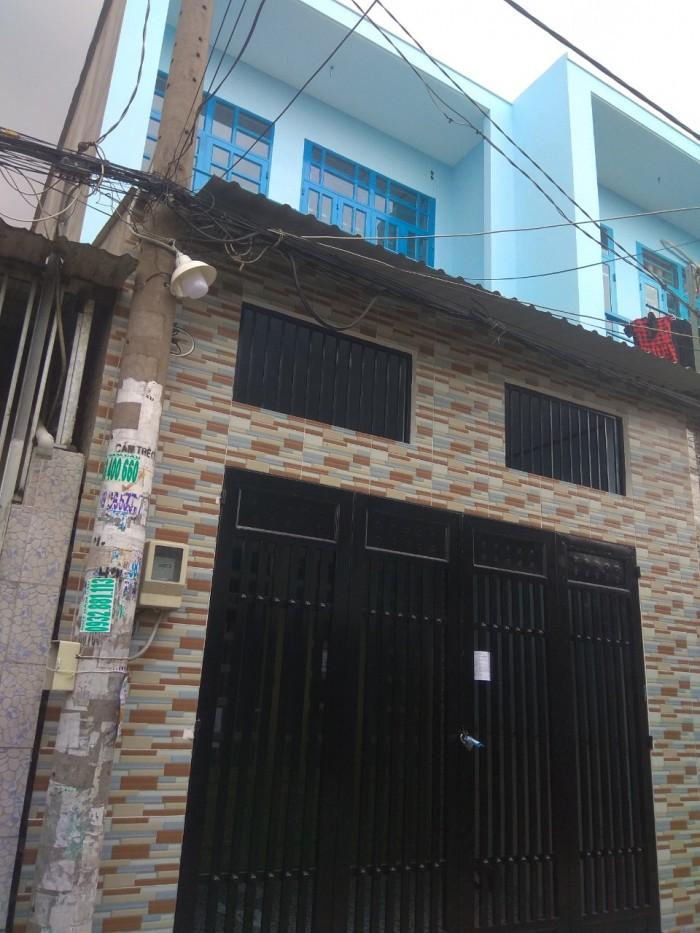 Bán nhà HXH 2 tầng 52m2 SHR nguyễn thị tú Quận Bình Tân
